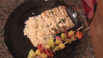 Hot Kitchen Polynesian Mahi Mahi, Coconut Rice, Recipe Demonstration