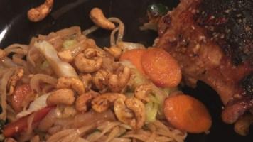 Hot Kitchen Phad Mein with Sesame Garlic Ginger Chicken Recipe Demonstration