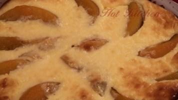Hot Kitchen Peach Angel Recipe Demonstration