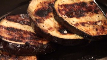 Hot Kitchen Grilled Eggplant Recipe Demonstration