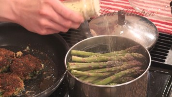 Hot Kitchen Steamed Asparagus Recipe Demonstration
