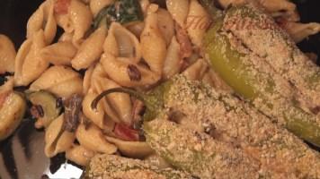 Hot Kitchen Stuffed Anaheims - Vegetarian Recipe Demonstration
