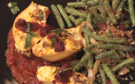 Hot Kitchen Italian Stuffed Shells Recipe Demonstration
