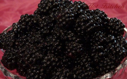 blackberries for seedless black berry jam - Hot Kitchen, Recipe