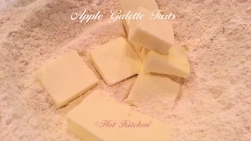 Apple Galette Tart Recipe Cutting in the Butter