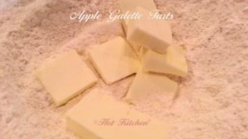 Apple Galette Tart Recipe Cutting in the Butter