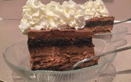 Devastating chocolate lasagna recipe