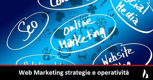 web marketing strategie e operatività