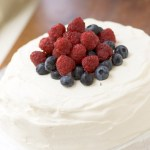 Vanilla Pavlova with Berries and…Window Cleaners