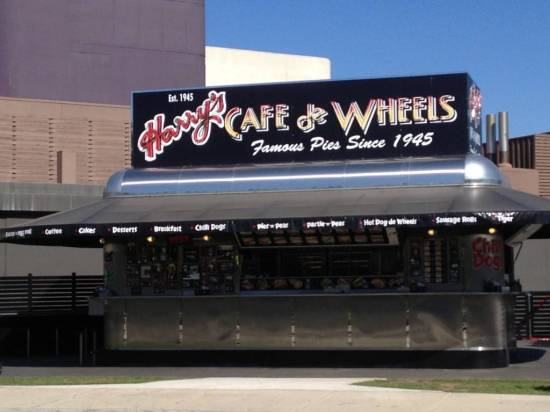 I thought the only Harry's Cafe de Wheels was in Woolloomoolloo
