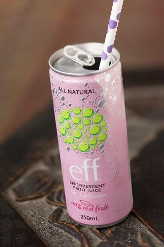 All Natural Effervescent Fruit Juice