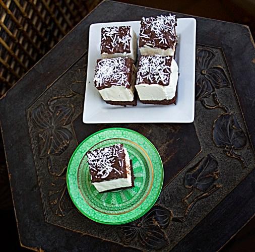 Chocolate Marshmallow Slice
