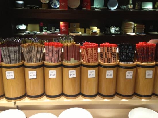 If you need chopsticks, they have plenty!