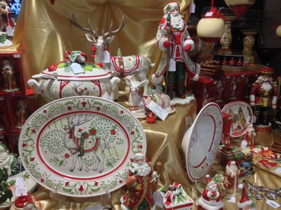 Festive serving dishes