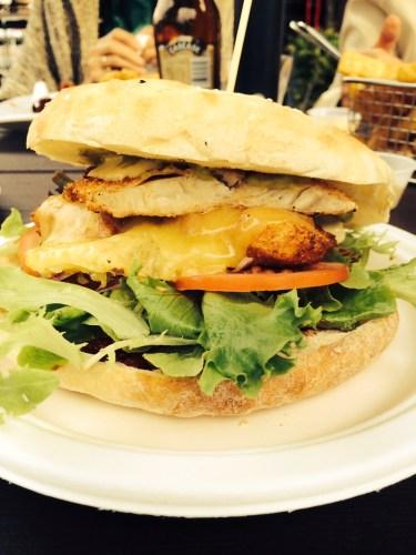 Fish Burger $16.00