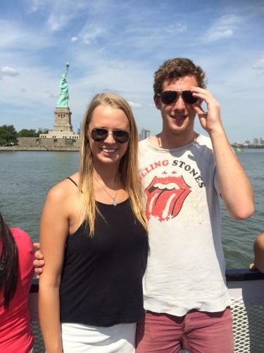 Approaching Liberty Island