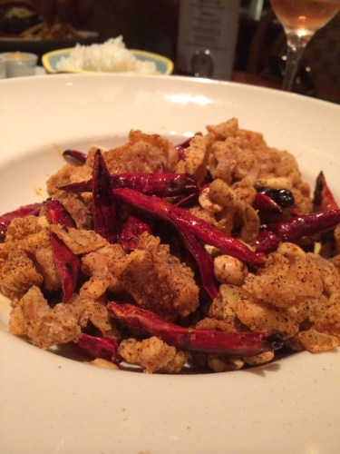 Crispy Chicken with Peanuts and Chillies $19.00