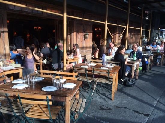 A summer's evening in the West Village - perfect for alfresco dining