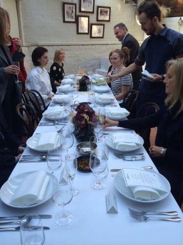 An Italian table