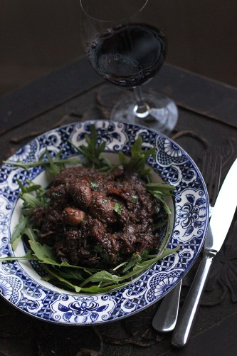 Beef cheeks with Asian flavours