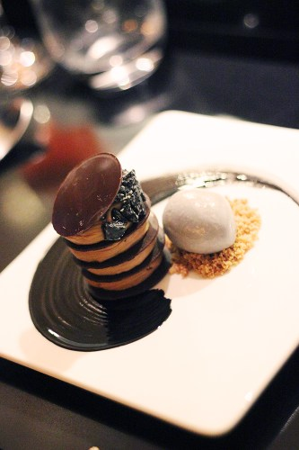 Goma Street, Caramelised white chocolate, sesame ice cream $12.00