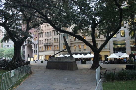 View from Macquarie Place Park