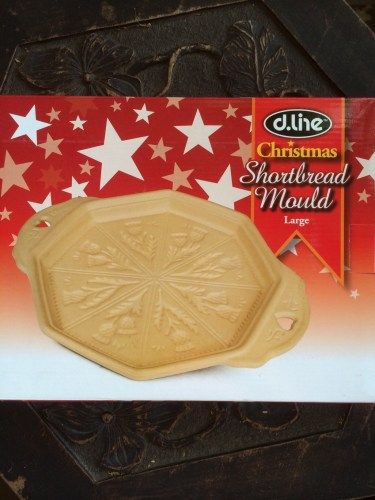 Christmas shortbread mould