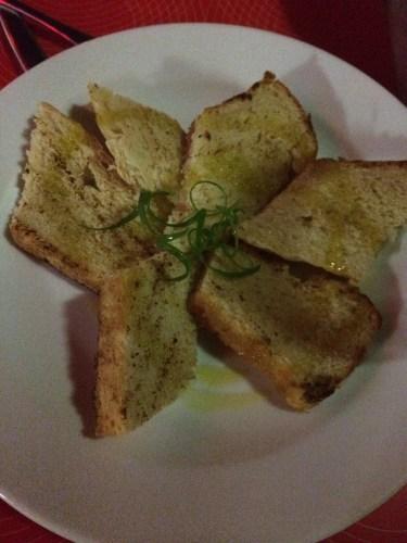 Home Baked Crispy Bread:  450 vt ($5.00)