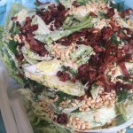 Iceberg Lettuce Salad and…Turkey Time