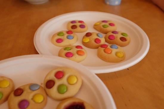 Millie's smartie cookies