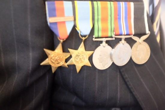 Grandpa Selwyn's medals