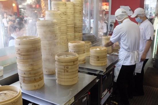 Punching out a few dumplings