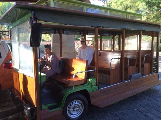 Transport around the resort