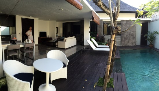 Open lounge/pool area