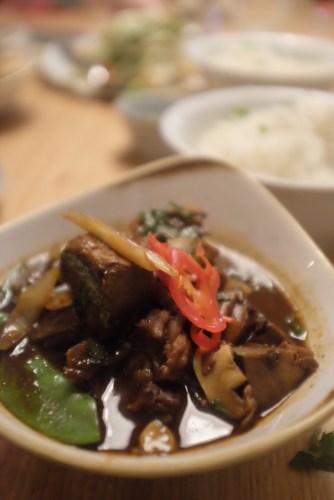 Mongolian Braised Shin Beef:  $30.00