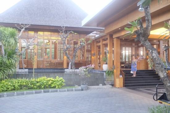 Entrance to The Samaya