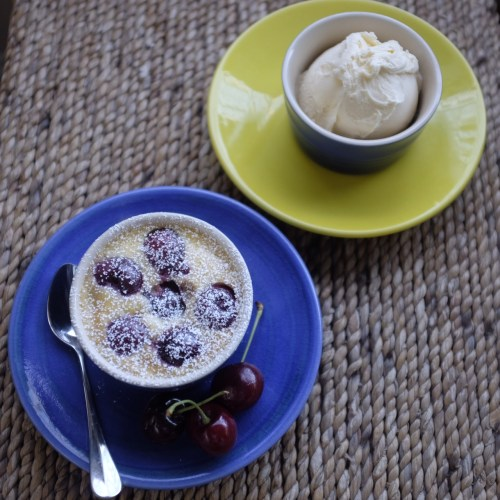 Make with fresh or frozen cherries