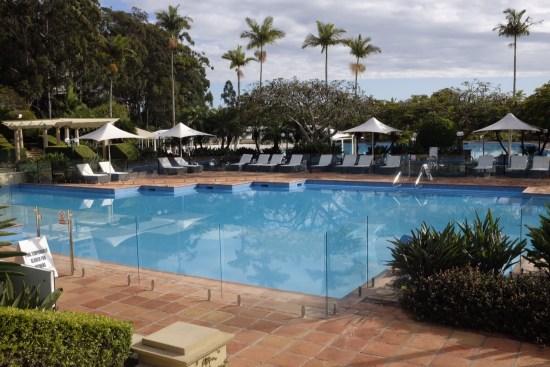 Resort heated pool