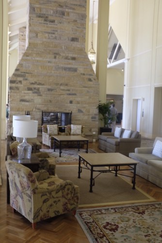 Lounge near the entry foyer