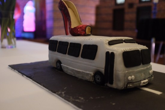 All aboard the bus