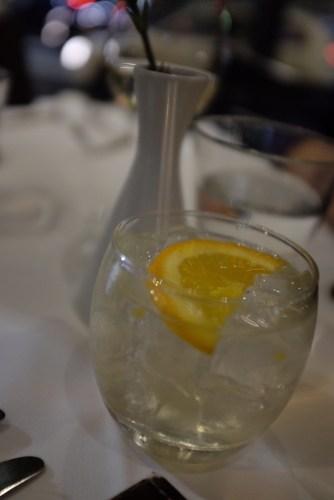 Four pillars gin with organic tonic: $14.00