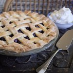 Blueberry Lattice Pie