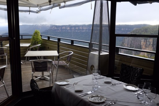 A restaurant situated in an incredible position