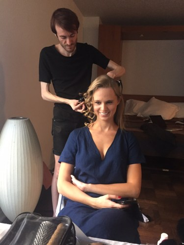 The Glam Squad in action