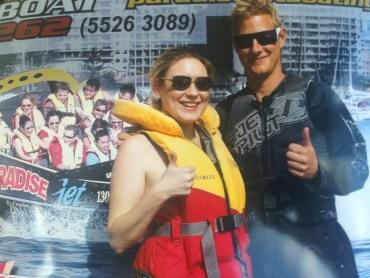 paradise Jet boating Gold coast Australia