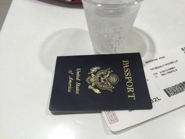 american passport at airport
