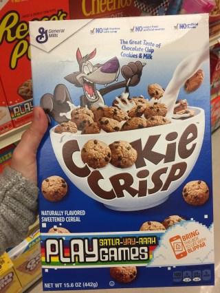 Cookie Crisp Cereal General Mills
