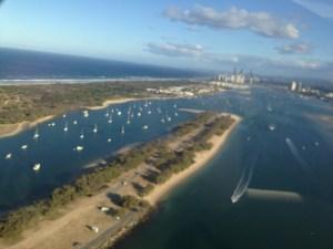 Gold coast helicopter ride australia seaworld