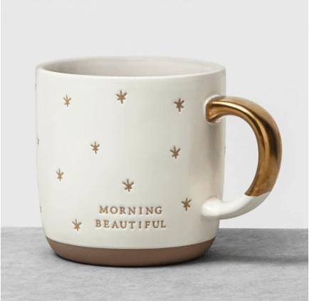 Mug Morning Beautiful White - Hearth & Hand™ with Magnolia