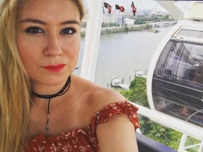 Girl on Brisbane Wheel